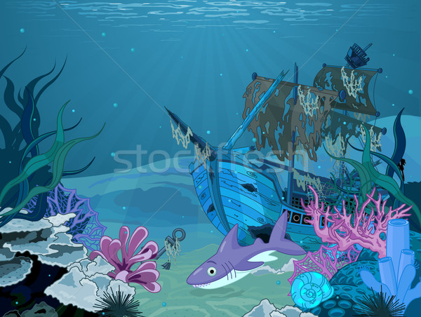 Underwater landscape Stock photo © Dazdraperma