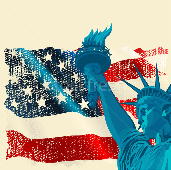 Statue of liberty Stock photo © Dazdraperma