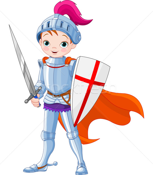 Medieval knight  Stock photo © Dazdraperma