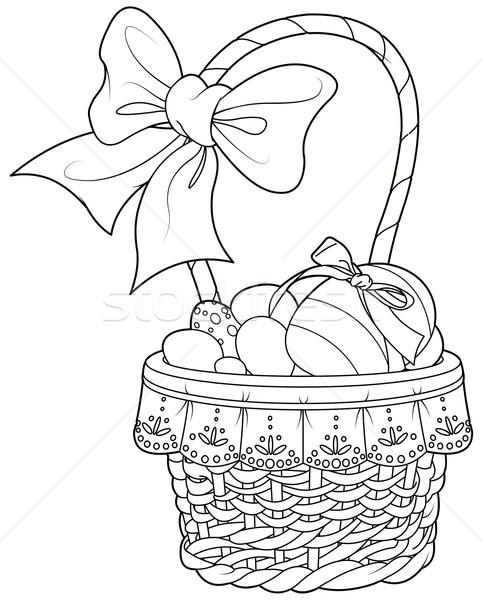 Easter Basket  Stock photo © Dazdraperma