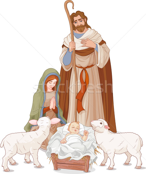 Nativity scene Stock photo © Dazdraperma