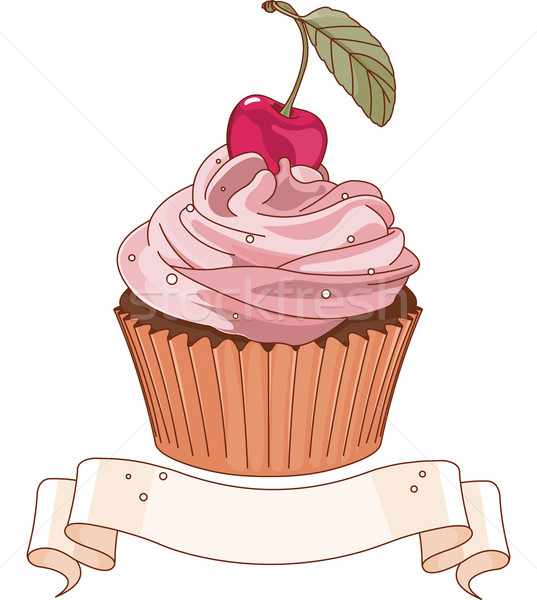 Beautiful cupcake Stock photo © Dazdraperma
