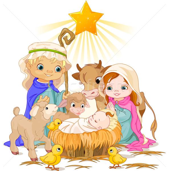 Holy Family Stock photo © Dazdraperma