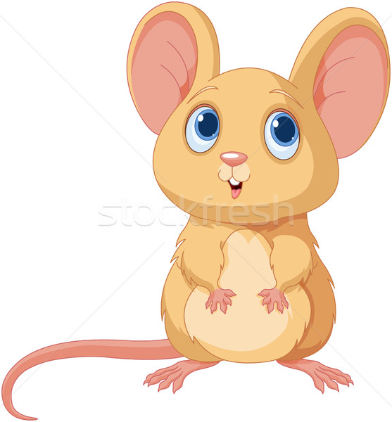 Cute Mice Stock photo © Dazdraperma