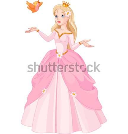 美しい 王女 実例 ストックフォト © Dazdraperma