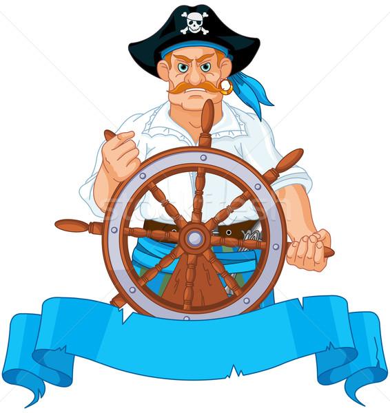 Pirate Captain Stock photo © Dazdraperma