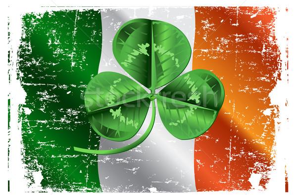 St. Patrick's Day Three Leafed Clover  Stock photo © Dazdraperma
