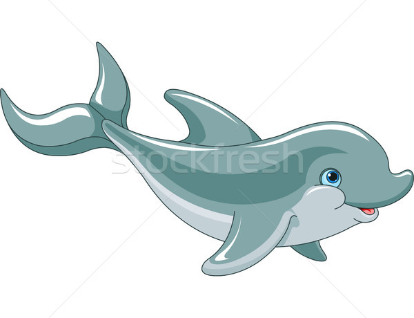 Swimming Dolphin  Stock photo © Dazdraperma