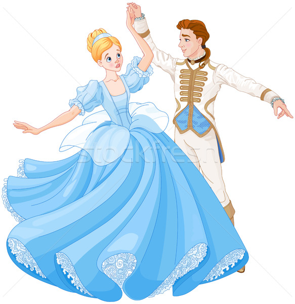 The Ball Dance of Cinderella and Prince  Stock photo © Dazdraperma