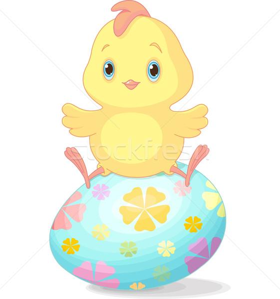 Easter chick Stock photo © Dazdraperma