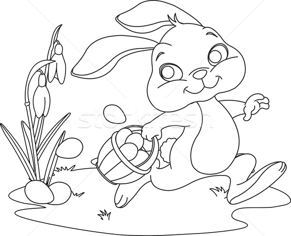 Easter Coloring Book Pages - Coloring Home | 487x600