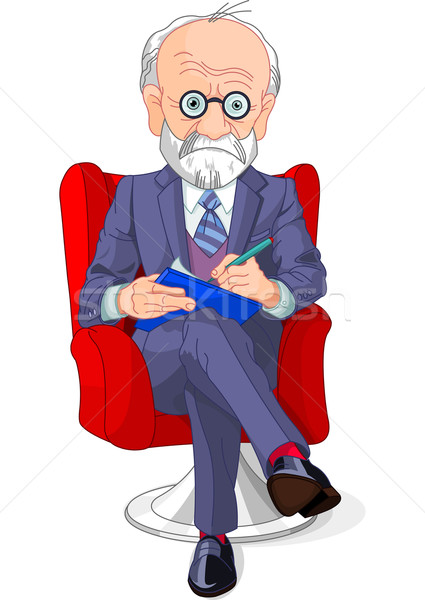 Psychiatrist Stock photo © Dazdraperma