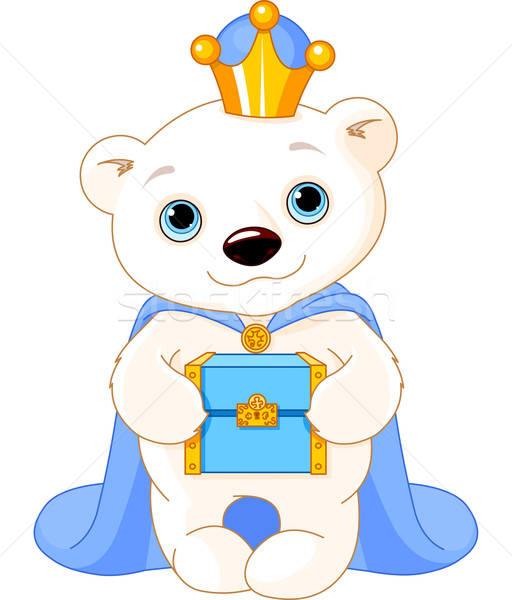 The Polar Bear as a Biblical Magi Stock photo © Dazdraperma