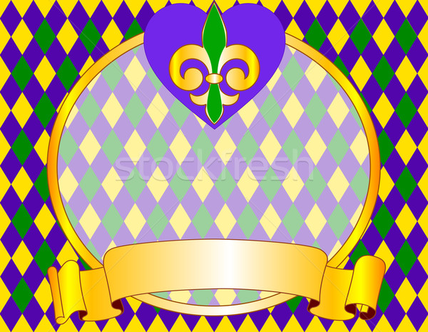Mardi Gras background design Stock photo © Dazdraperma