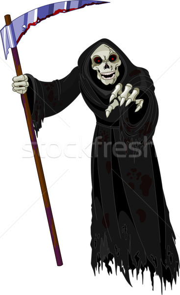 Halloween Grim Reaper Stock photo © Dazdraperma