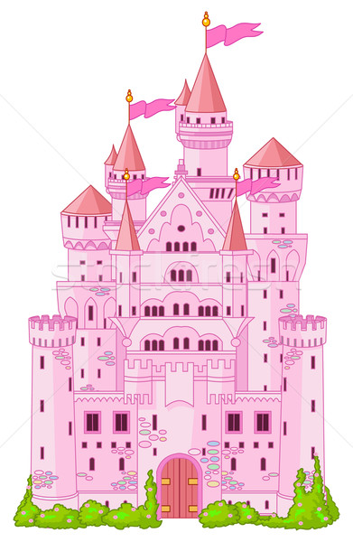 Magic princess Castle  Stock photo © Dazdraperma