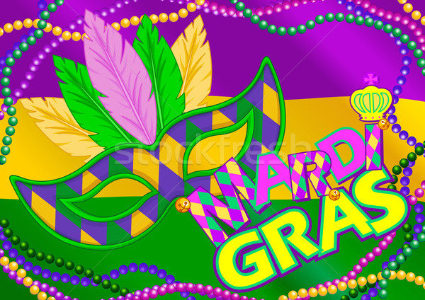 Mardi Gras Background  Stock photo © Dazdraperma