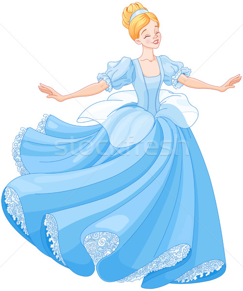 Stock photo: The Ball Dance of Cinderella