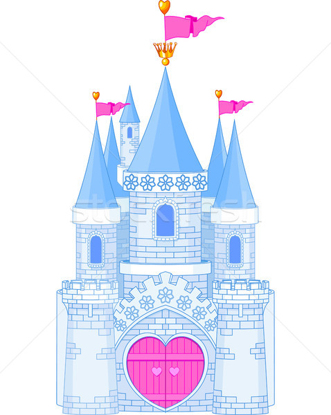Romantic Castle Stock photo © Dazdraperma