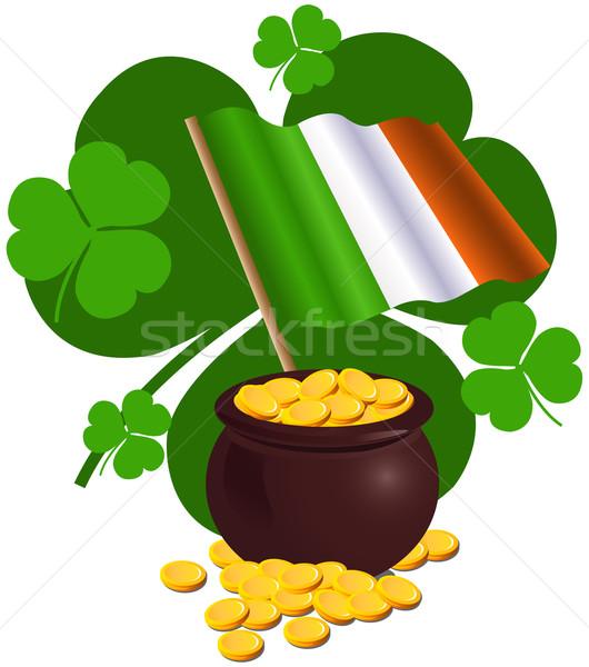 St. Patrick Day Design Stock photo © Dazdraperma
