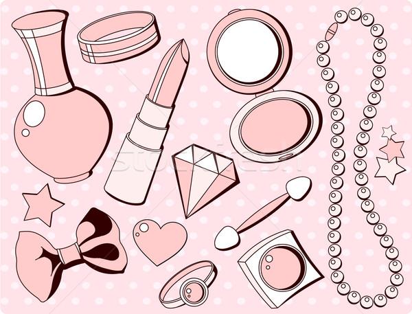 Cute fashion accessories Stock photo © Dazdraperma