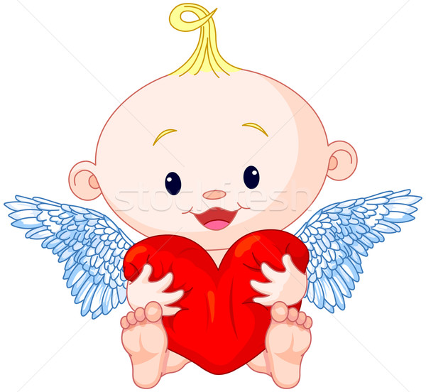 Valentine's Day Cupid Stock photo © Dazdraperma