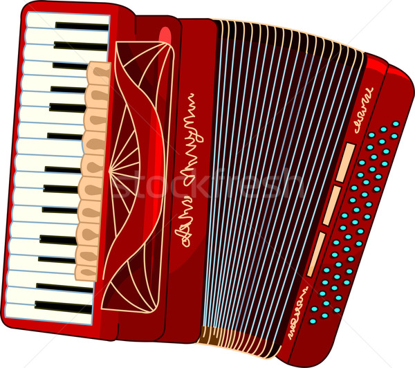 Accordion Stock photo © Dazdraperma