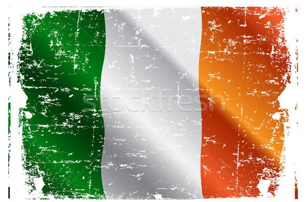 Irish flag Stock photo © Dazdraperma
