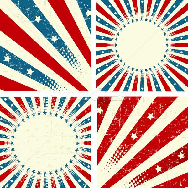 Patriotic Background Stock photo © Dazdraperma