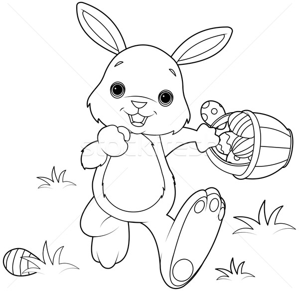 Easter Bunny  Stock photo © Dazdraperma