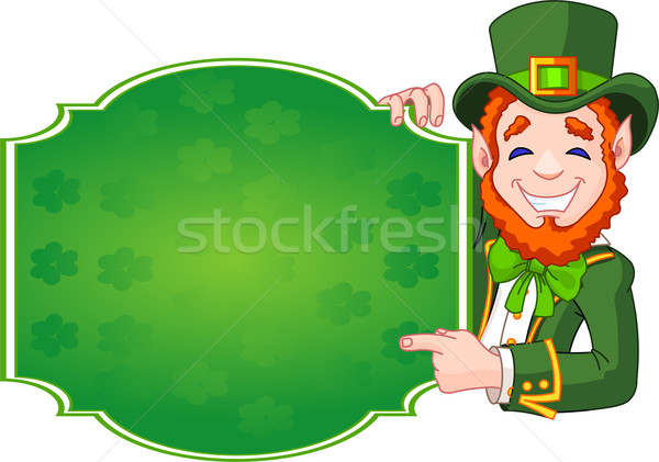 St. Patrick's Day Lucky Leprechaun Stock photo © Dazdraperma