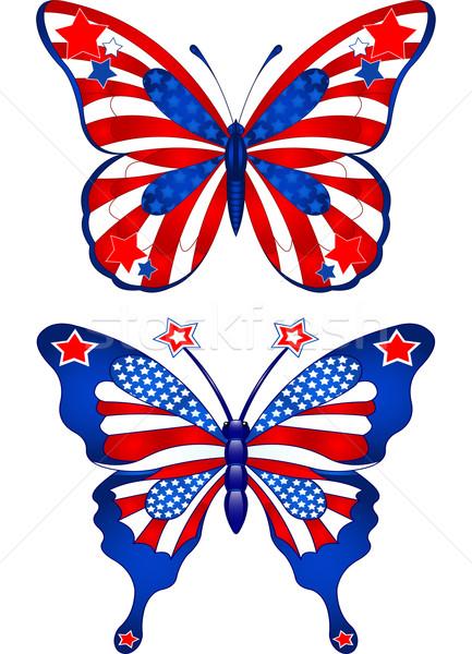 USA butterflys Stock photo © Dazdraperma