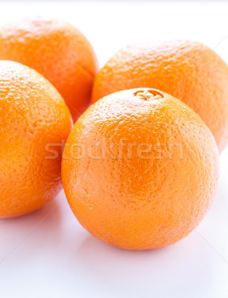 Four Naval Oranges.jpg Stock photo © dbvirago