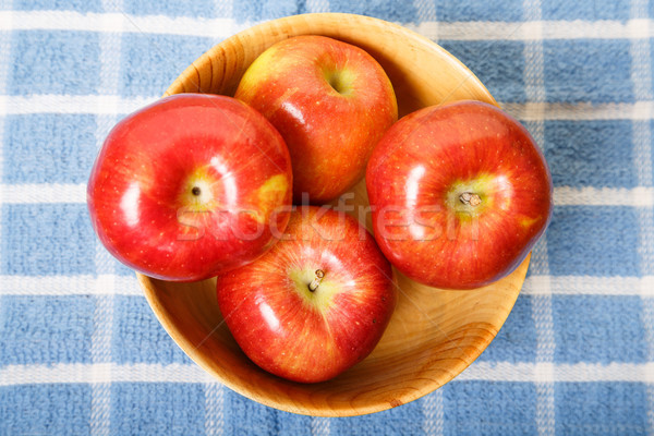 Stock photo: Apples in Bowl from Above