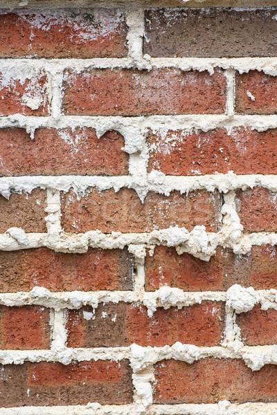 ストックフォト: レンガの壁 · 垂直 · 関節 · 良い · テクスチャ