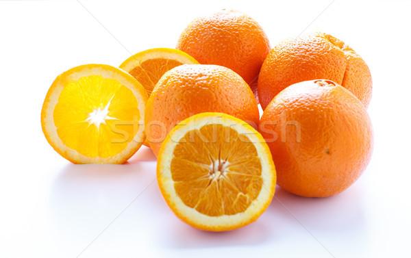 光 スライス オレンジ 新鮮な オレンジ ウィンドウ ストックフォト © dbvirago
