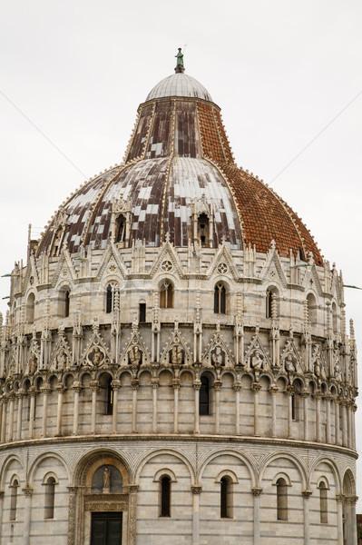 Chiesa vecchio nuovo tetto antica Italia Foto d'archivio © dbvirago