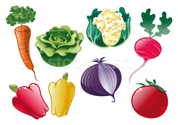 Vegetables. Stock photo © ddraw