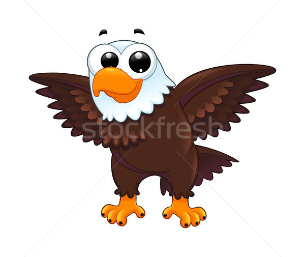 Young eagle Stock photo © ddraw