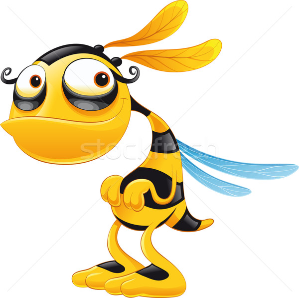 Funny Bee.  Stock photo © ddraw