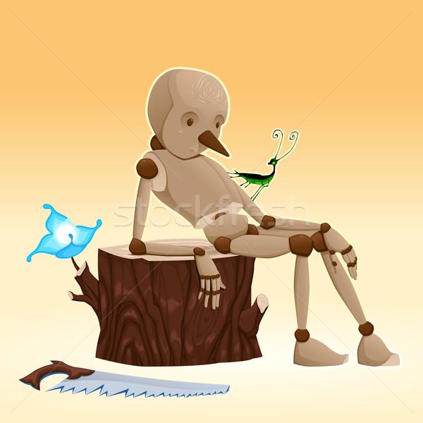 Pinocchio.  Stock photo © ddraw