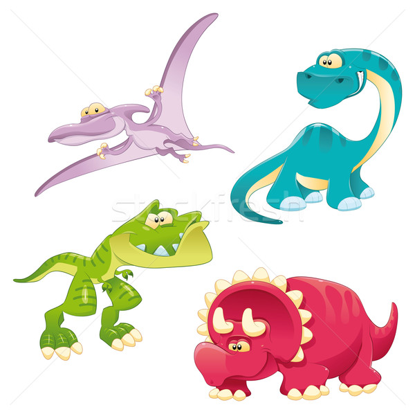Dinosaurs Family.  Stock photo © ddraw