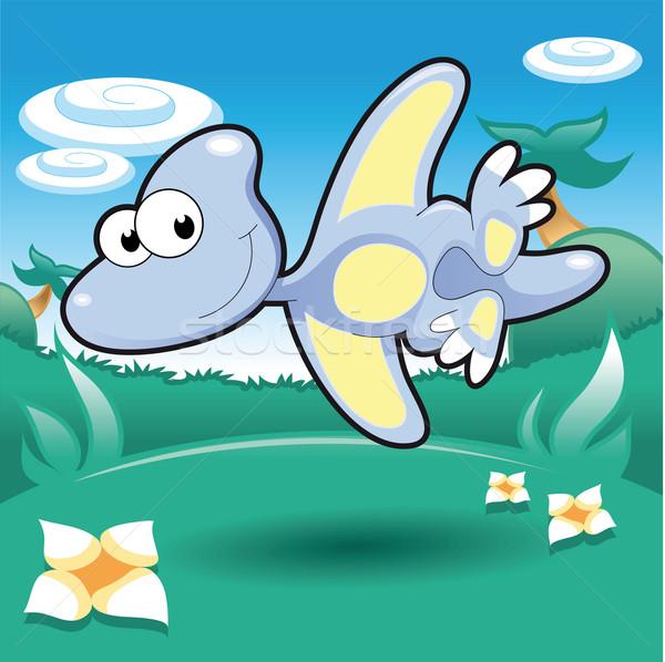 Baby Pterodactyl. Stock photo © ddraw