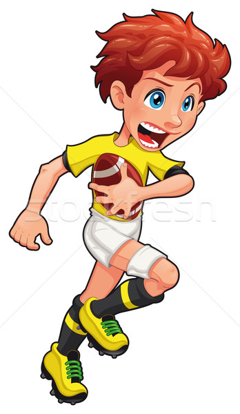 Rugby player. Stock photo © ddraw