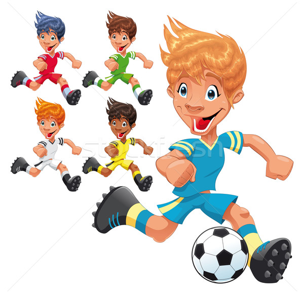 Soccer Players.  Stock photo © ddraw