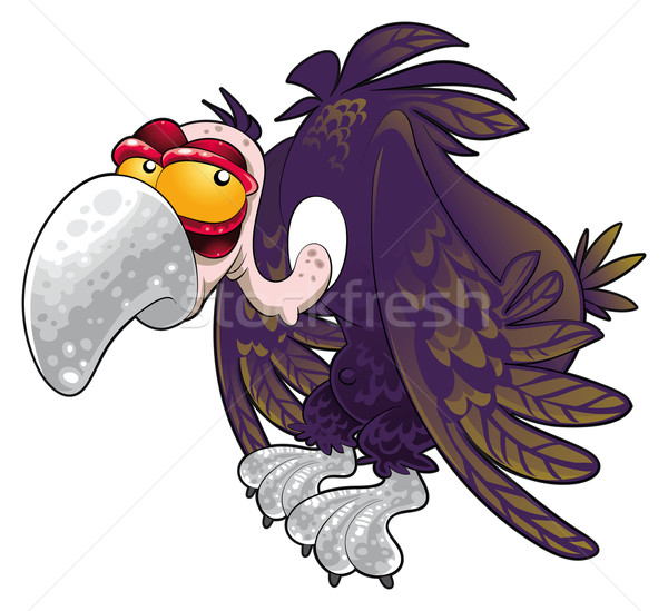 Baby vulture. Stock photo © ddraw