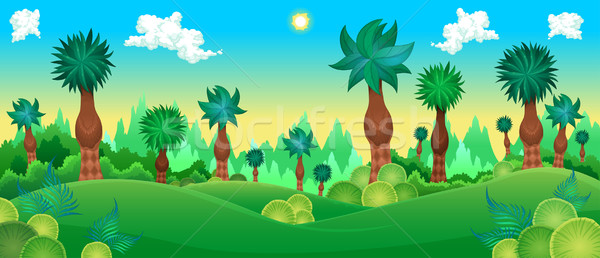 Green forest Stock photo © ddraw