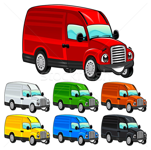 Funny van. Stock photo © ddraw