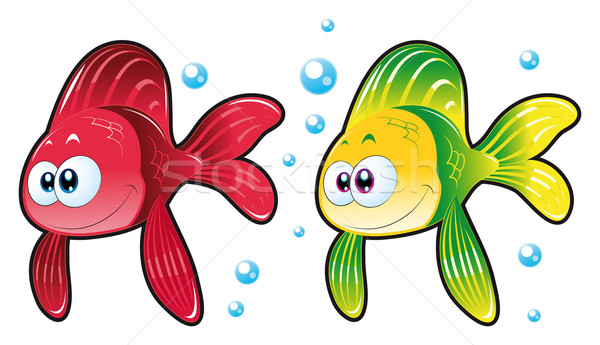 Two Fish. Stock photo © ddraw