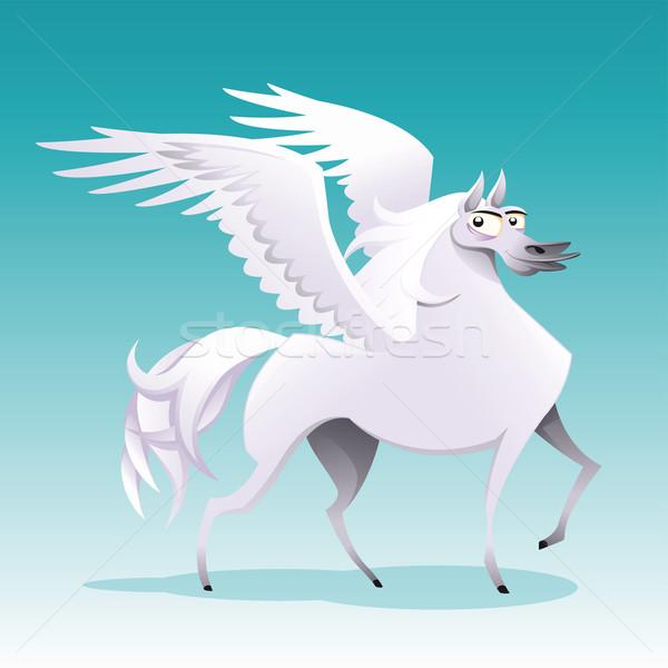 Pegasus.  Stock photo © ddraw